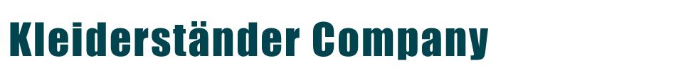 Kleiderständer Company