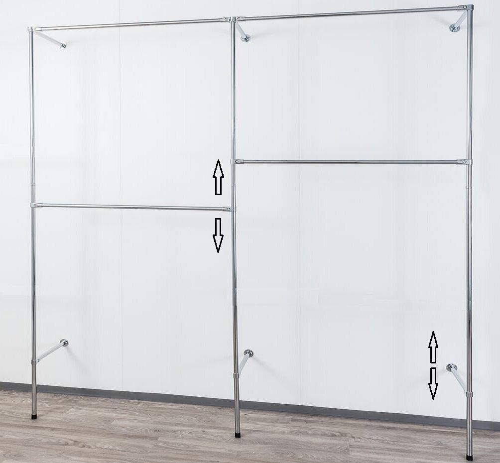 Wandregalsystem  Kleiderständer Company - begehbarer Kleiderschrank, Kleiderkammer ...